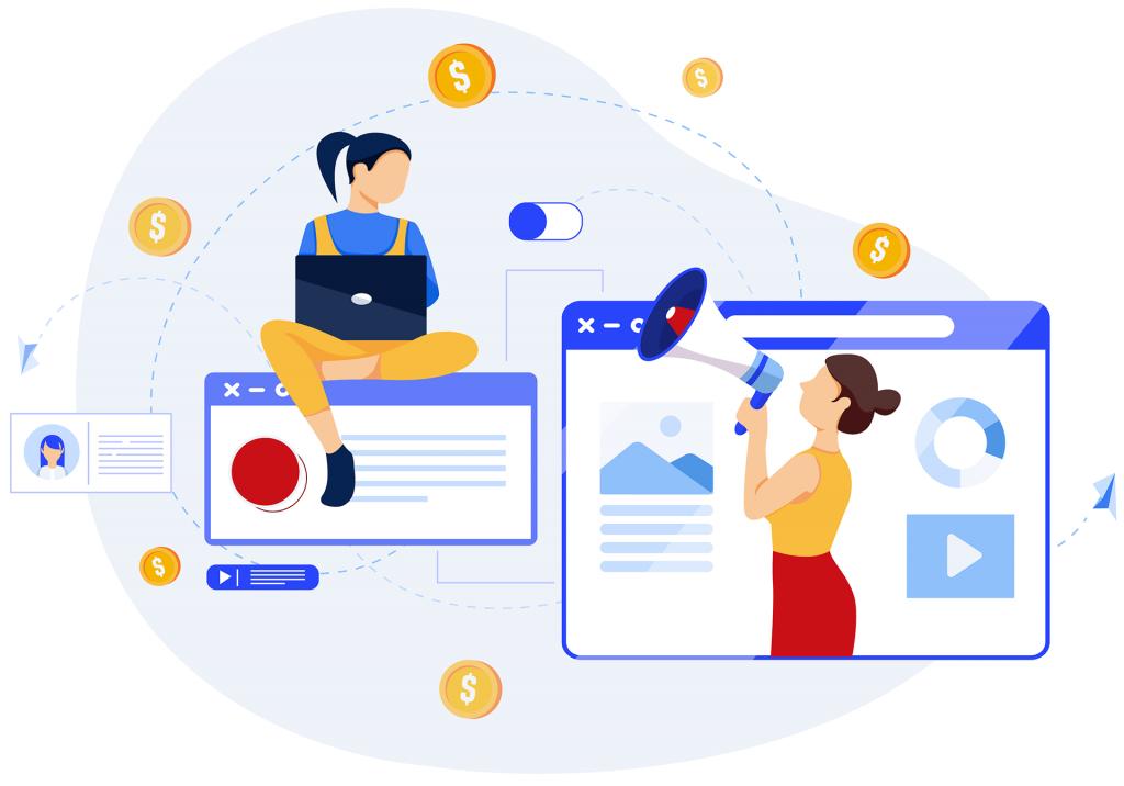 e-marketing grafika
